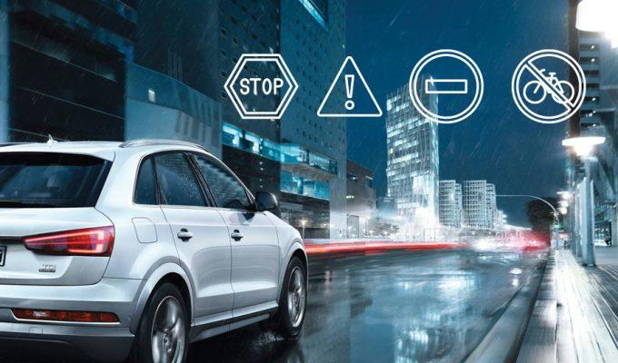 Audi prepoznavanje znakova