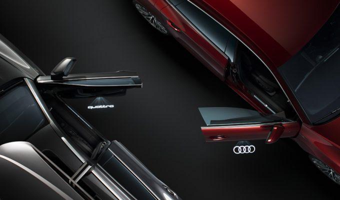 Audi svjetla kod otvaranja vrata