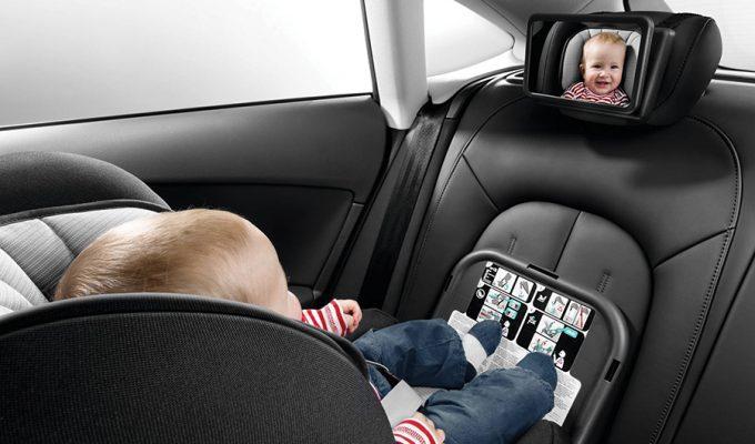 Audi zrcalo za bebe