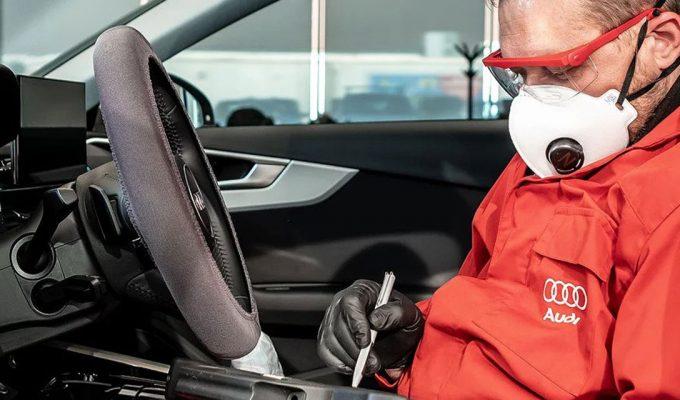 Audi sigurnost u servisu