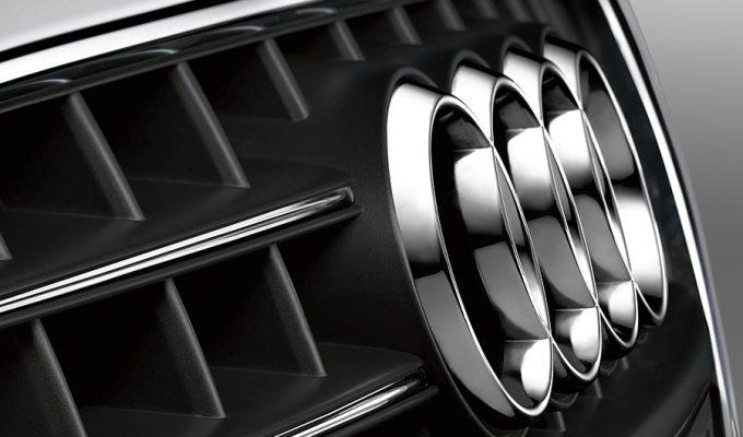 Audi kromirane naljepnice