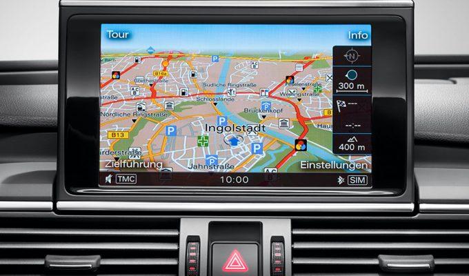 Audi navigacijska karta