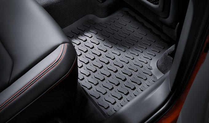 Audi gumeni tepisi